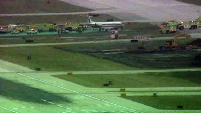 Avión se sale de pista en O'Hare