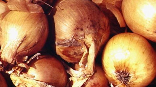 Retiro del mercado de cebollas