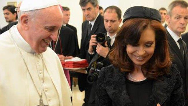 La broma del Papa a Cristina Kirchner