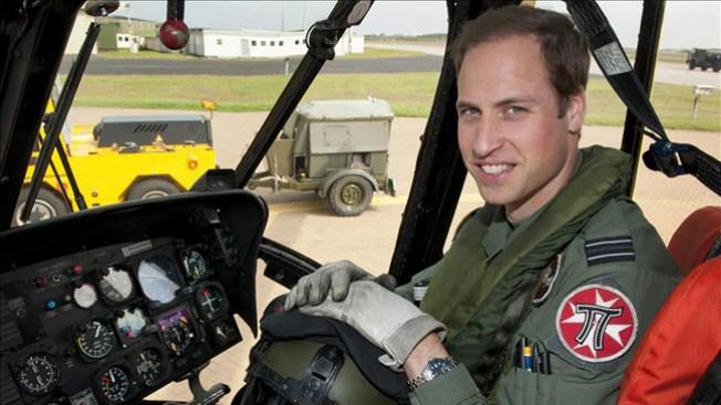 Príncipe Guillermo deja la fuerza aérea