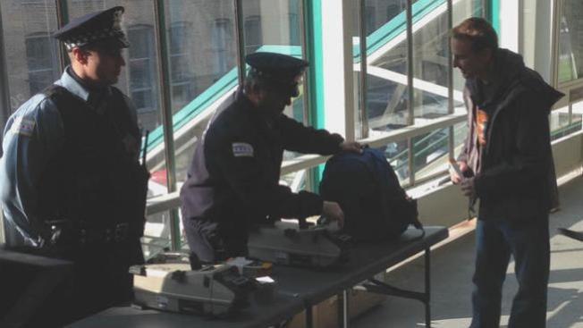Inspección por explosivos en la CTA