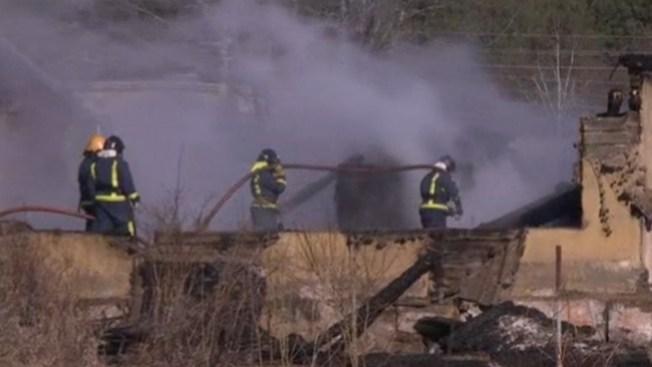 Incendio en hospital deja 38 muertos