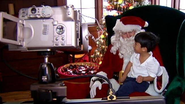 """Fotos con """"Santa"""" gratis"""