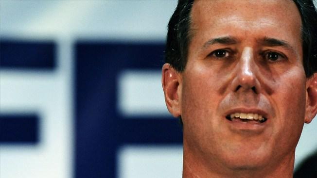 Rick Santorum sigue firme  en la contienda