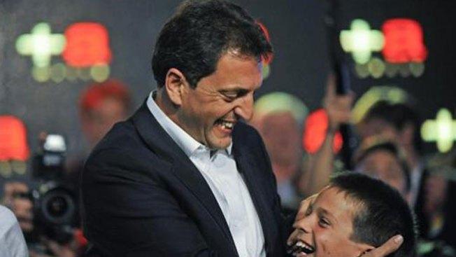 Sergio Massa gana legislativas argentinas