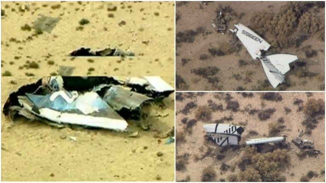 Virgin Galactic investiga accidente