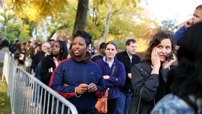 Chicago espera filas de votantes