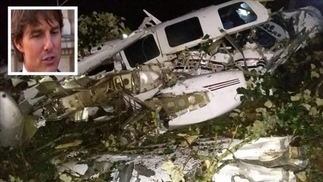Colombia: Cae avión del equipo de Tom Cruise