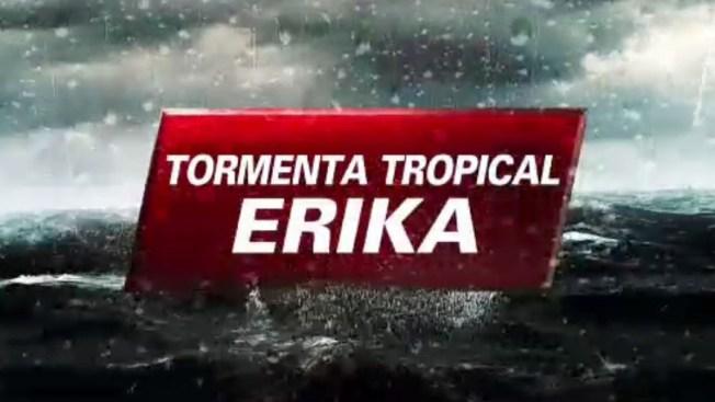 La tormenta Érika sigue debilitándose