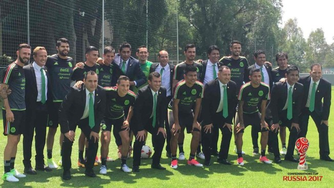México le empata a Portugal con cabezazo en el último minuto