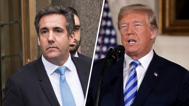 """Trump: es """"quizás ilegal"""" que su exabogado lo haya grabado"""