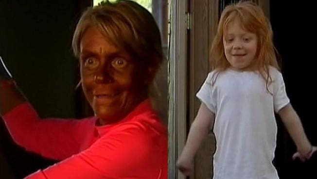 La acusan de llevar a hija a cabina de bronceado