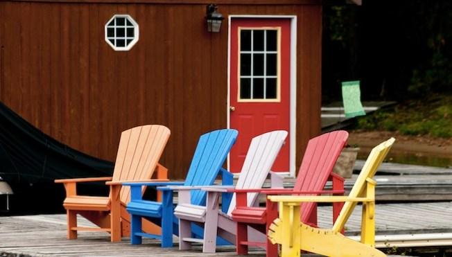 La silla adirondack un cl sico de verano telemundo chicago - Silla adirondack ...