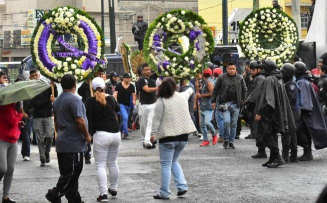 Resguarda SSP CDMX funeral y entierro de El Ojos