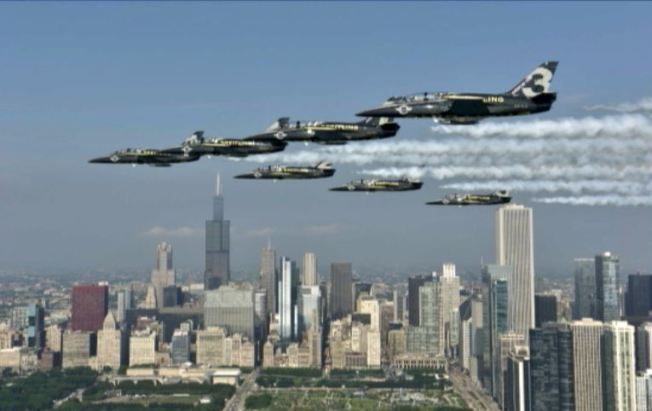¿Dónde ver el Chicago Air and Water Show?