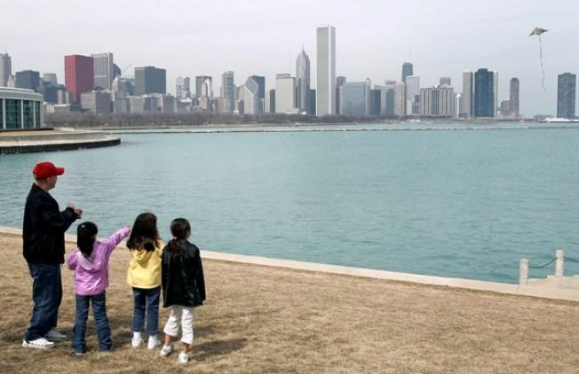 Y en Chicago... frío al llegar la primavera
