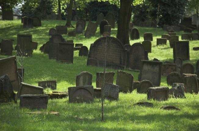 Cine de horror en cementerio de Chicago