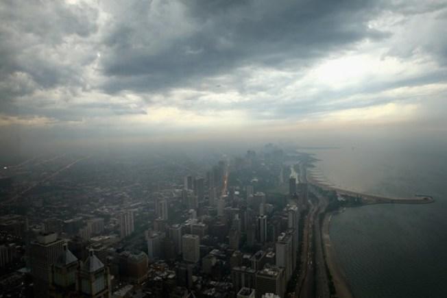 Pronóstico: Lluvia, viento y… frío