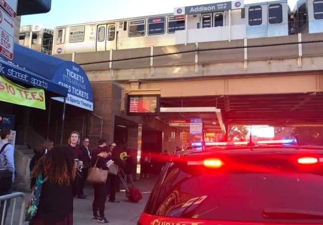 Evacuan estación del CTA tras hallazgo de polvo blanco en tren