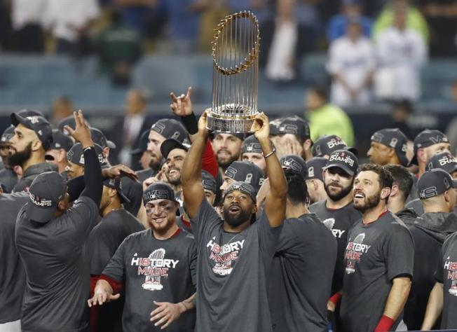 Serie Mundial: Los Red Sox son los campeones