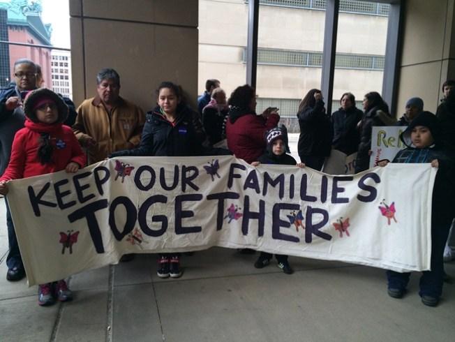 Protestan en contra de deportaciones