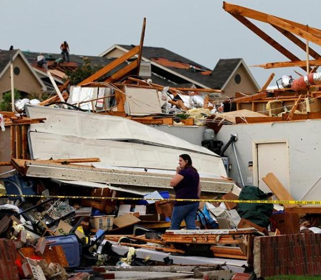 Poderosos tornados golpean Texas