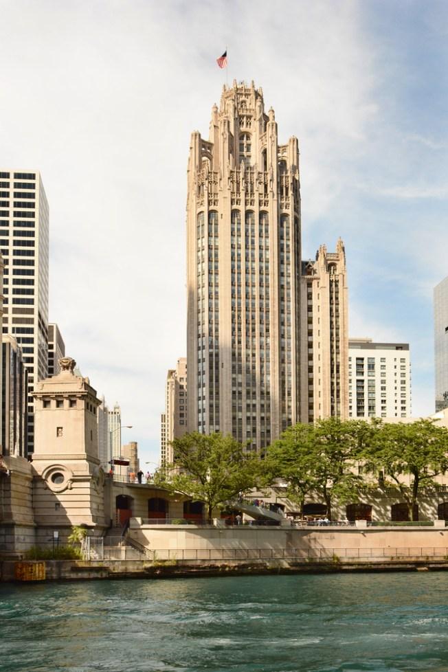 A la venta histórica Torre del Chicago Tribune