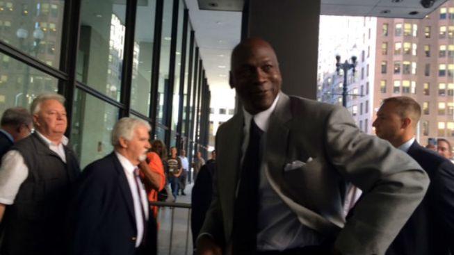 Michael Jordan testificó en corte de Chicago