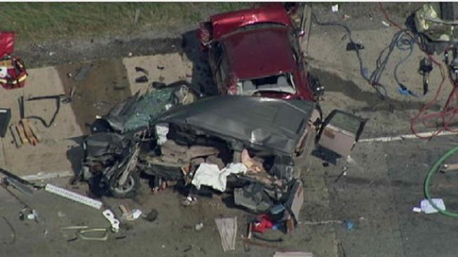 Cinco muertos en choques en la I-55