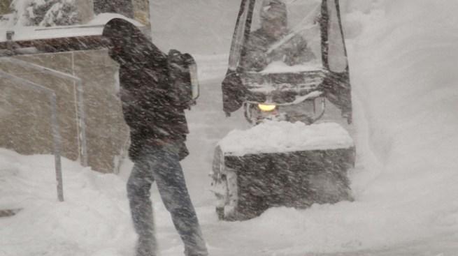 Récord de nieve en Chicago