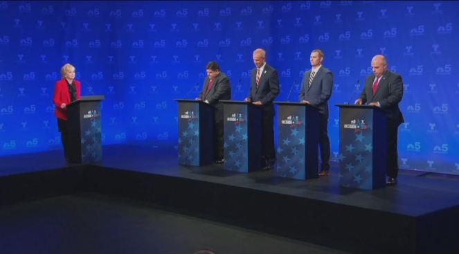 NBC 5 y Telemundo Chicago: Foro de candidatos a gobernador