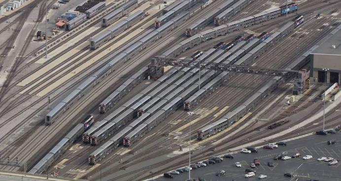 Retrasos en Union Station por problemas de señal en línea Metra