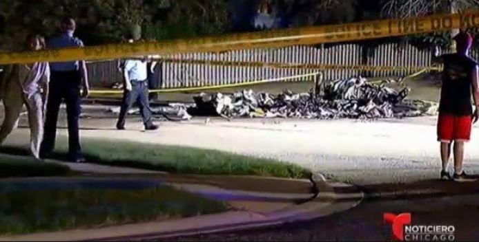 Muere piloto al estrellar avioneta en Plainfield