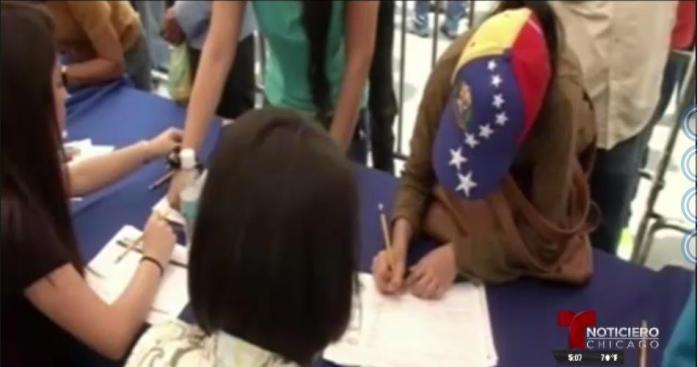 Venezolanos en el extranjero participarán en plebiscito