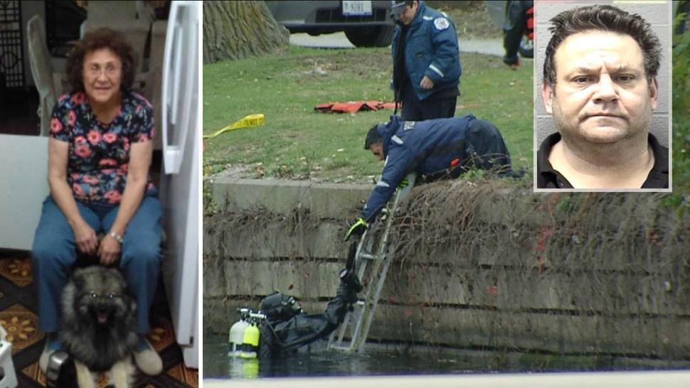 Acusan hijo tras hallar posibles restos de su madre en laguna