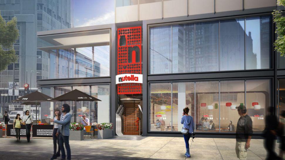 """Chicago será el hogar del primer """"Café Nutella"""" del mundo"""